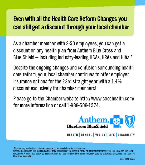 Blue Cross Blue Shield Quote: Westerville Area Chamber Of