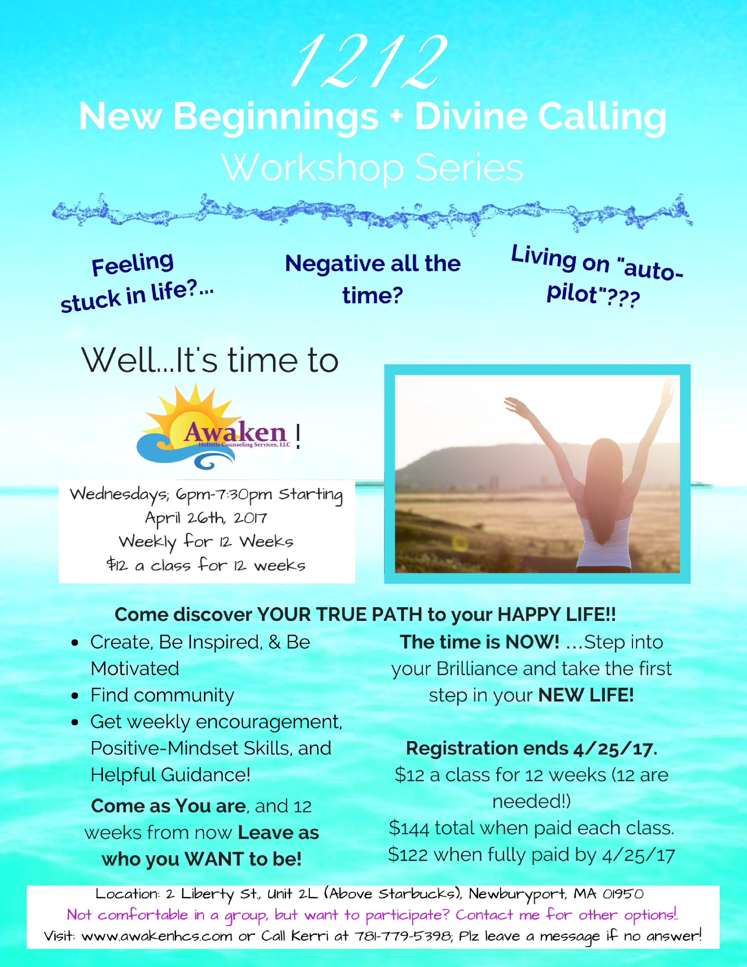 Awaken Holistic Counseling '1212 New Beginnings Workshop'