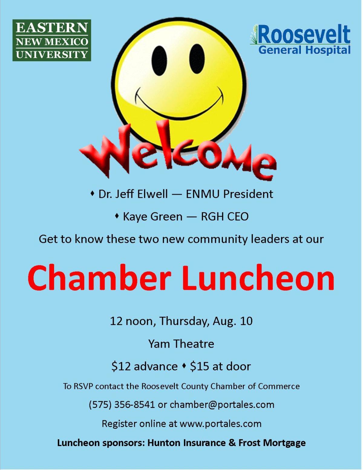 Chamber Lunch Flyer