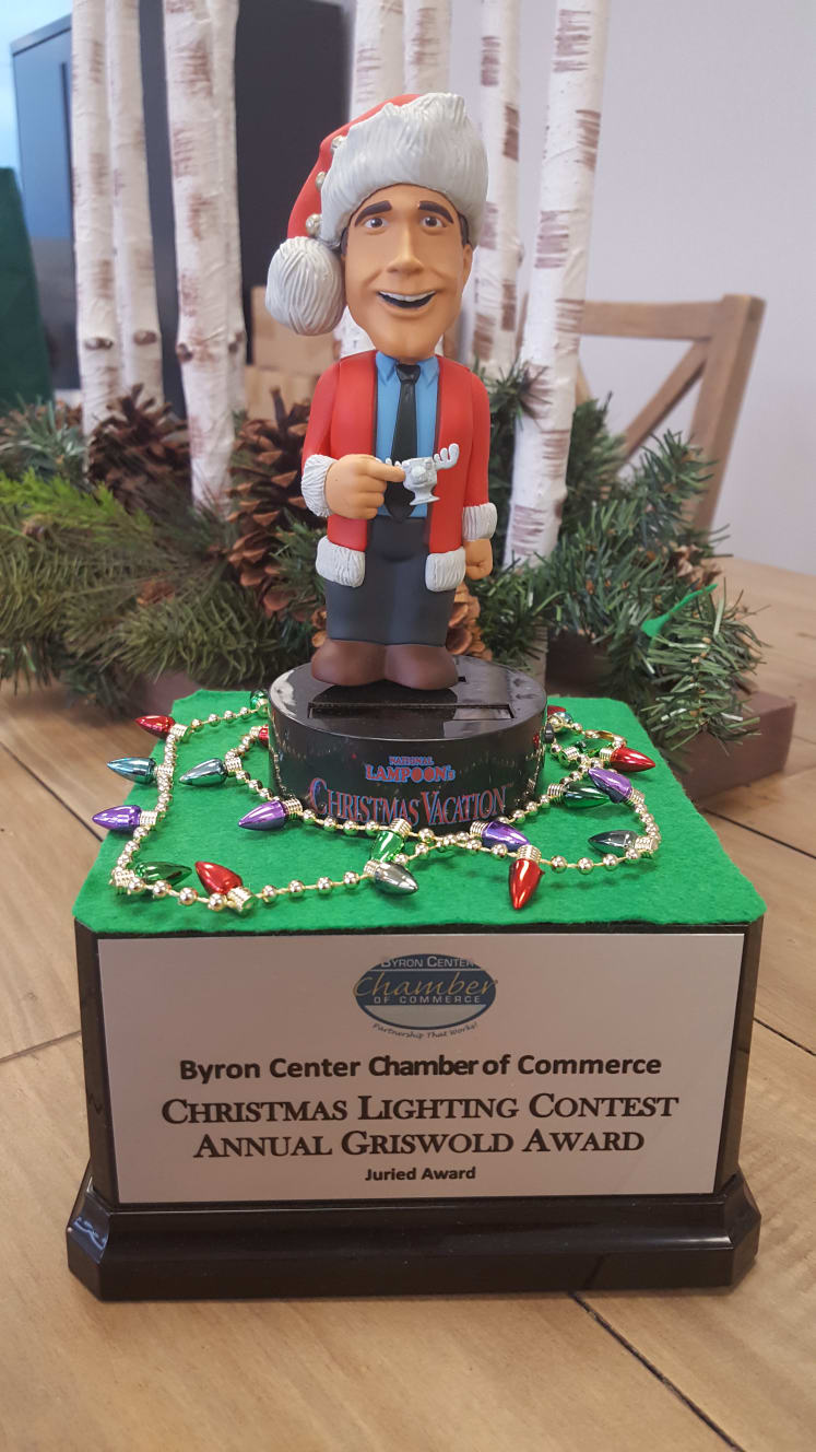 Byron Center Chamber Annual Christmas Lighting Contest