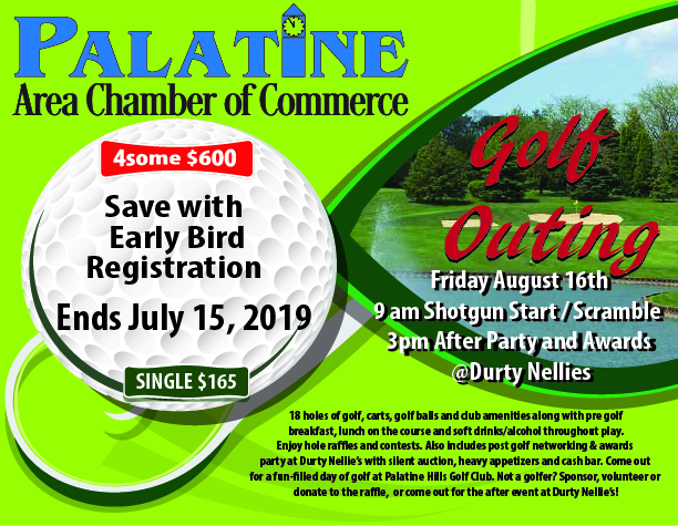 Palatine Chamber Golf Outing 2019