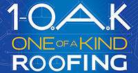 1-OAK Roofing Logo