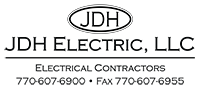 JDH Electric Logo