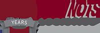 NOTS Logistics 40th Anniversary Logo
