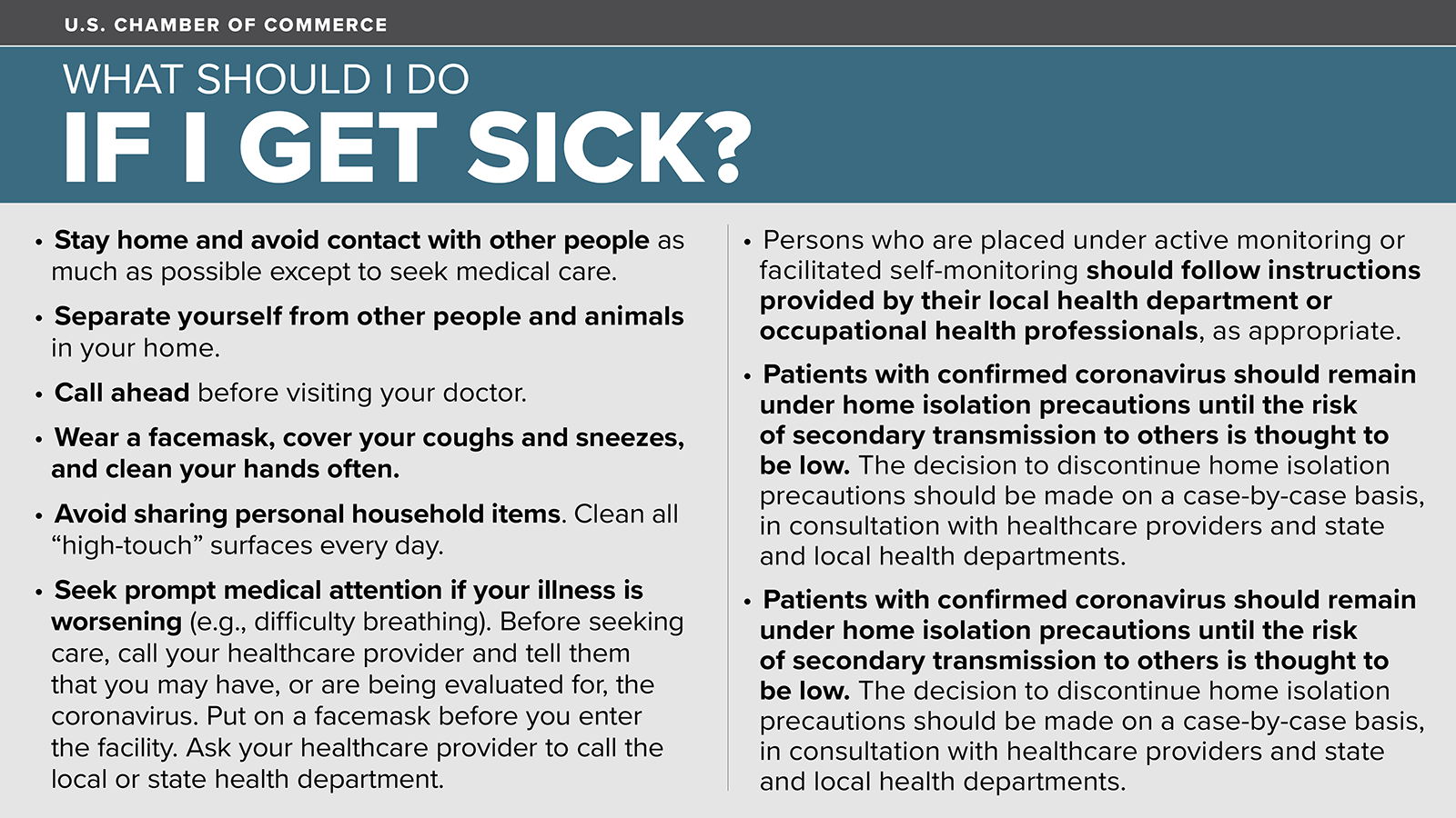 What to Do if I Get Sick? Click Here to View