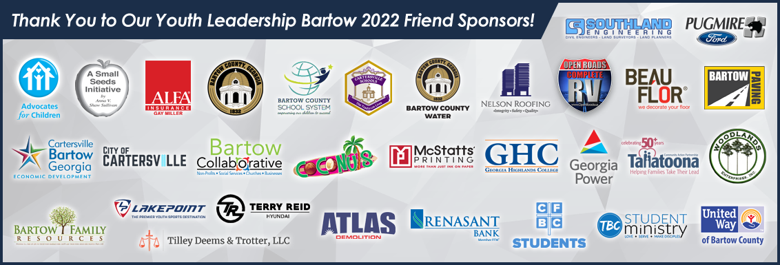 Thank You to Our Youth Leadership Bartow 2022 Friend Sponsors!