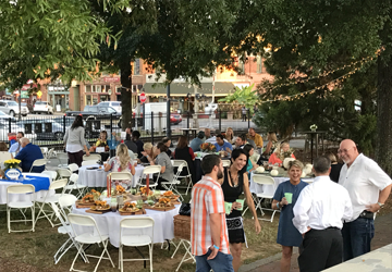Chamber Cookout VIP Tables Downtown Cartersville