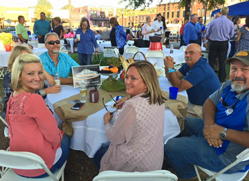 Chamber Cookout VIP Table Guests