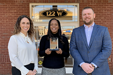 Mecole Ledbetter, 2020 Volunteer of the Year
