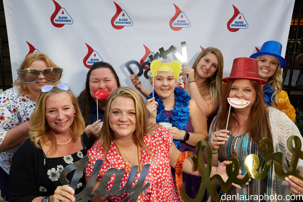 Chamber Members at Cookout Photo Booth