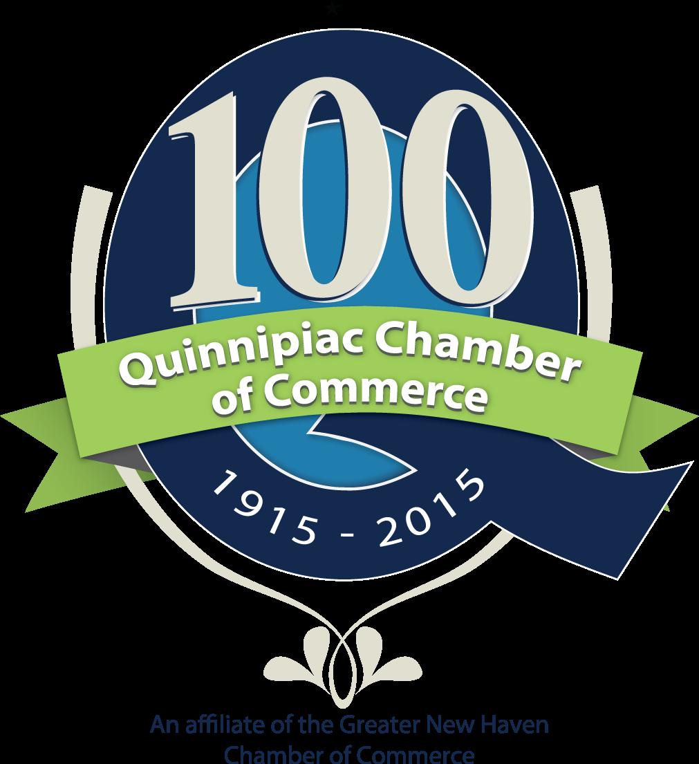Quinnipiac Chamber of Commerce Centennial  Logo
