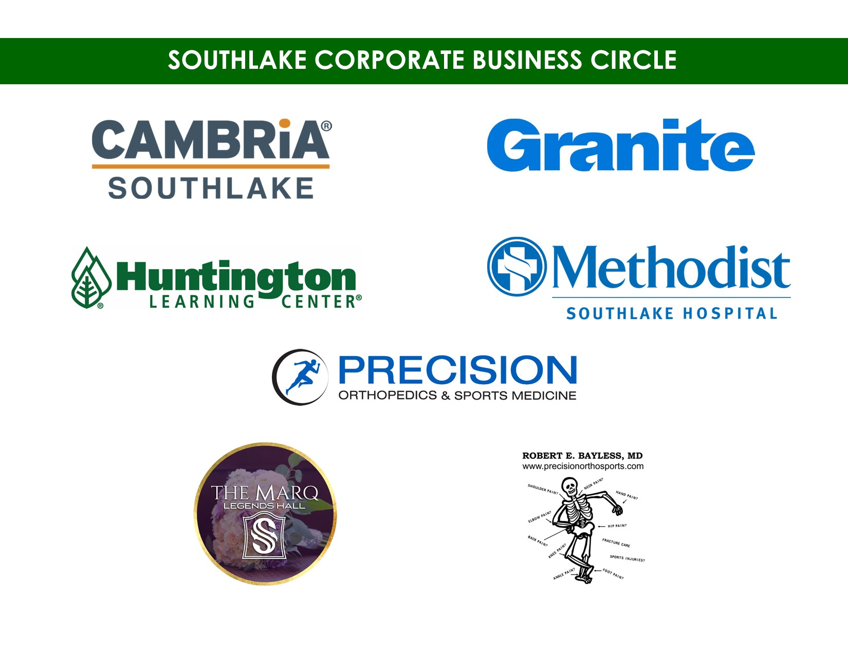 SOUHTLAKE CORPORATE BUSINESS CIRCLE