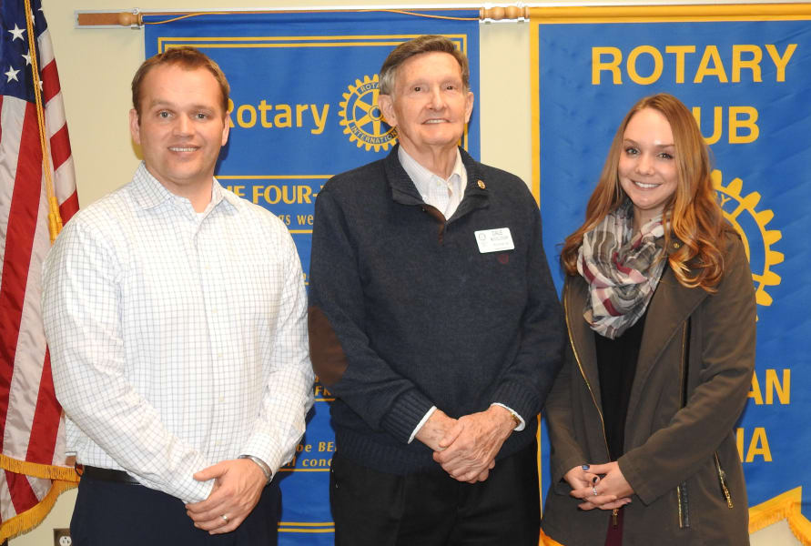 Majestic Care talks to Sheridan Rotary