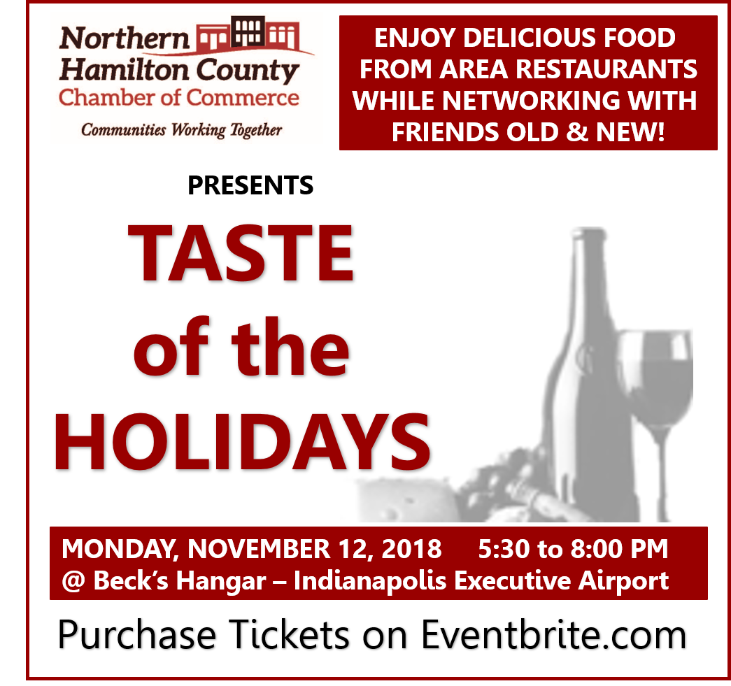 Click here to get your tickets for the Taste of the Holidays!!!