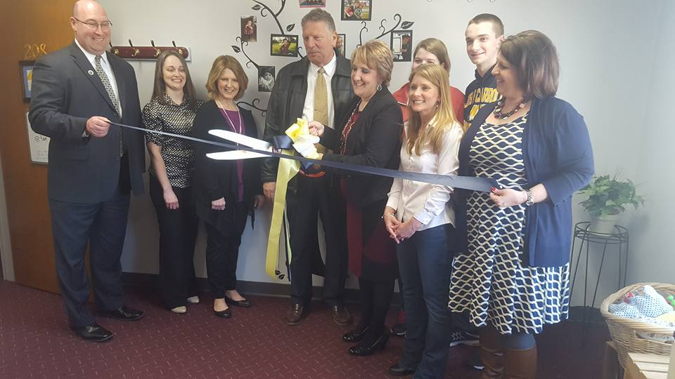 Open Arms Adoption Ribbon Cutting