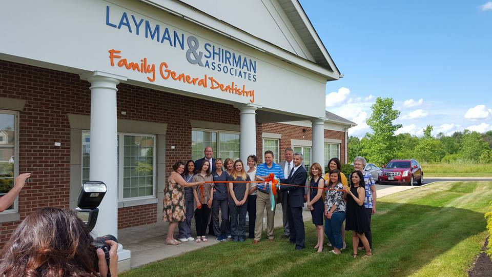 Layman and Shirman Ribbon Cutting