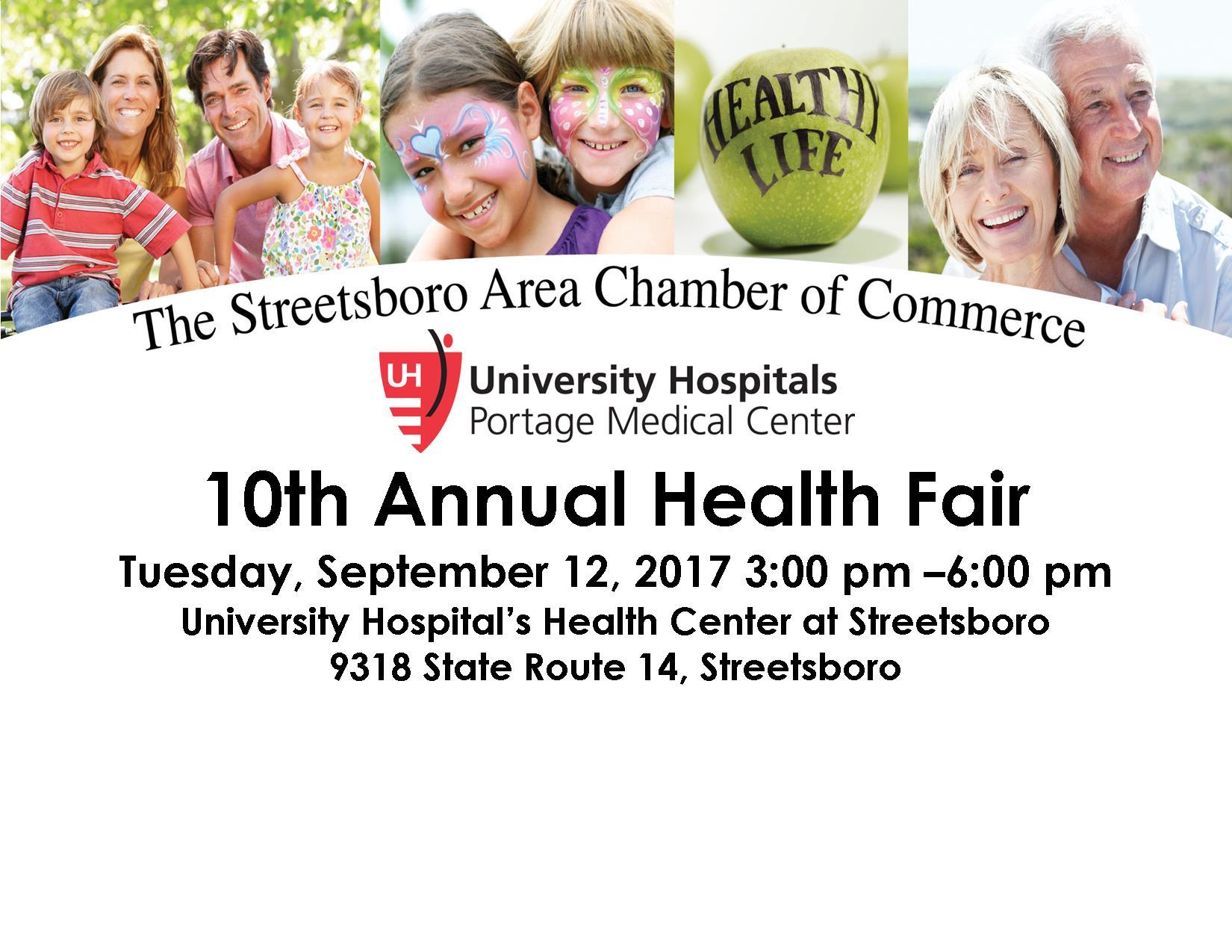 2017 Health Fair Flyer