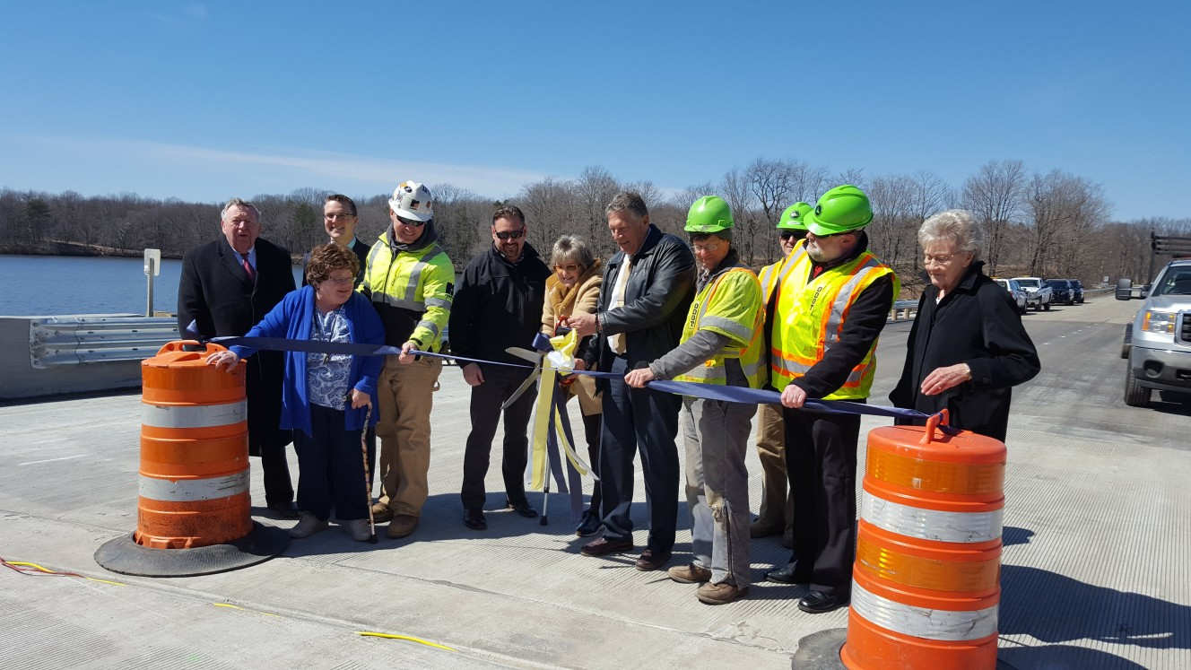 Reopening of SR14 Bridge over Lake Rockwell