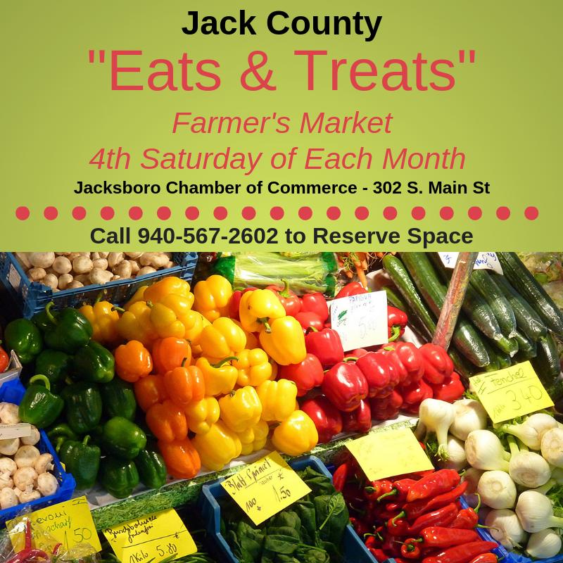 Jack Co. Eats & Treats Farmer's Market
