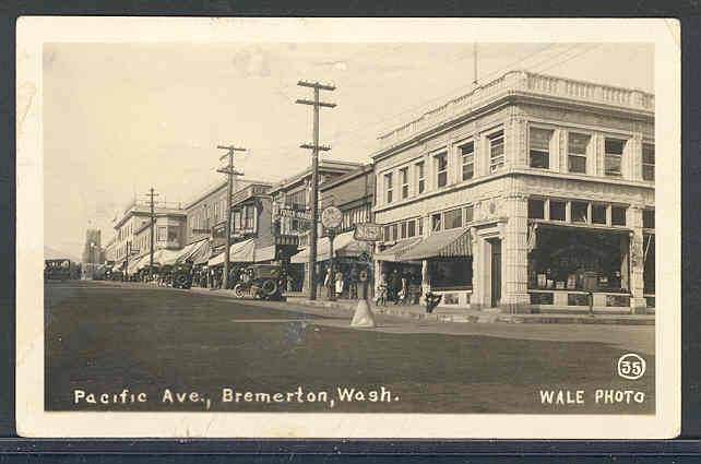 *photos Courtesy Of Kitsap Historical Society And Smith Western Postcard Co.
