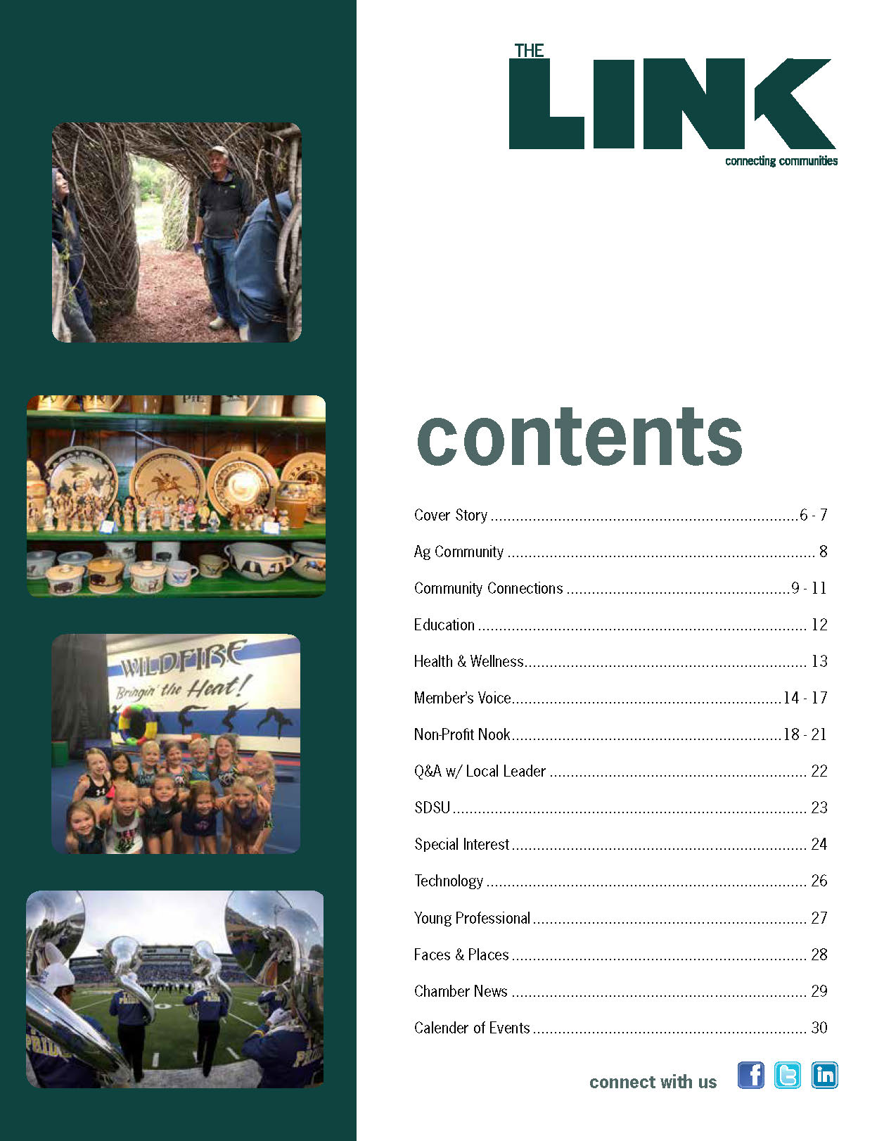 The LINK, Table of Contents