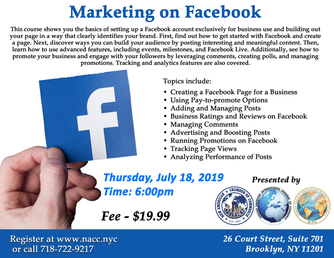 Marketing on Facebook - Jul 18, 2019 - The Leaders in