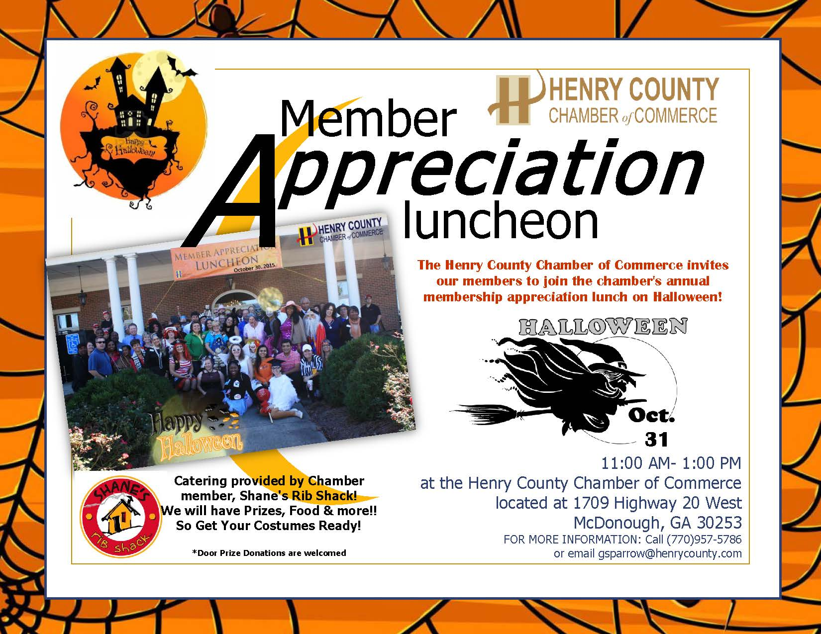 October is Member Appreciation Month