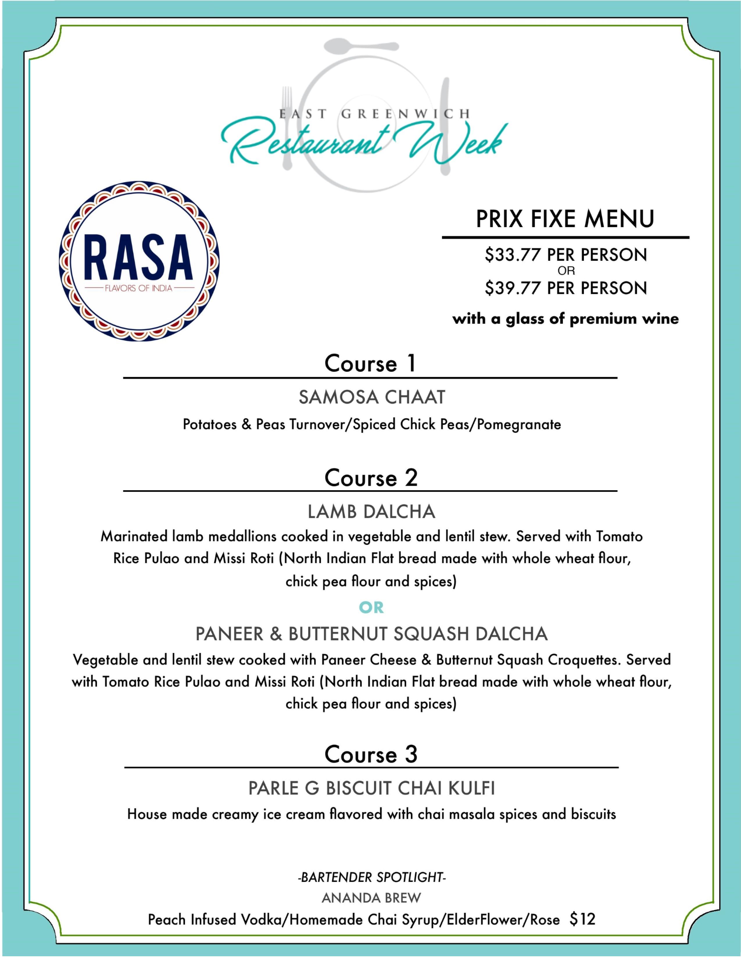 east greenwich restaurant week