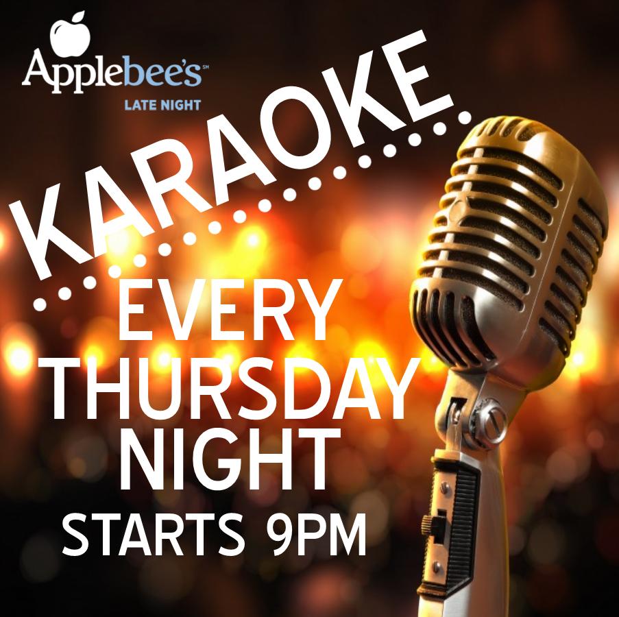 Oct 05 oct 06 applebee s late night karaoke