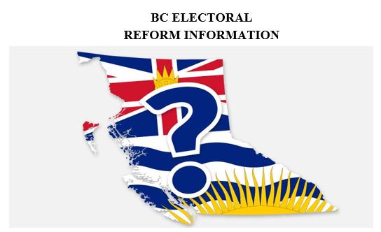 BC Electoral Reform Information