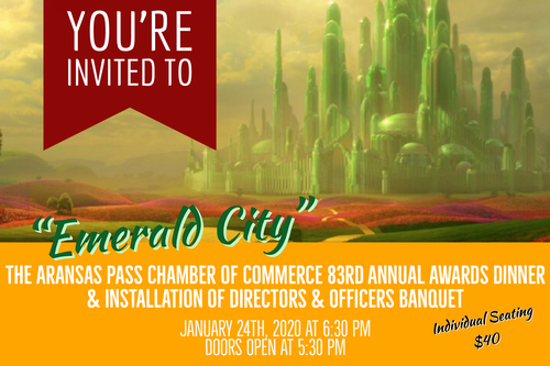 83rd Annual Awards Dinner & Installation of Directors & Officers Banquet