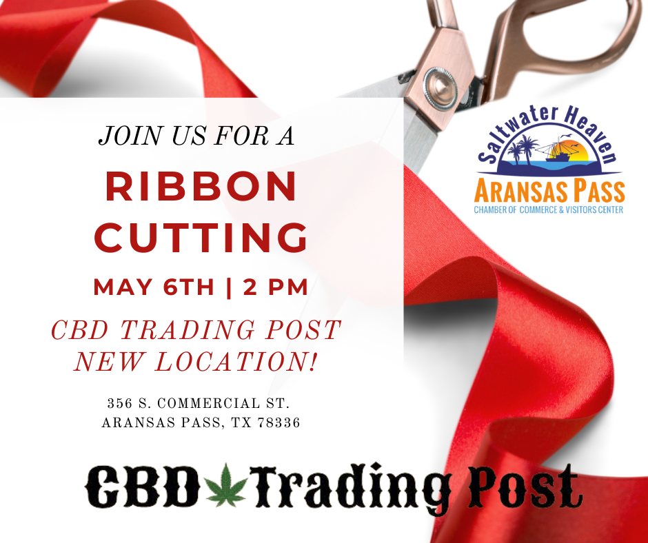 Ribbon Cutting - CBD Trading Post