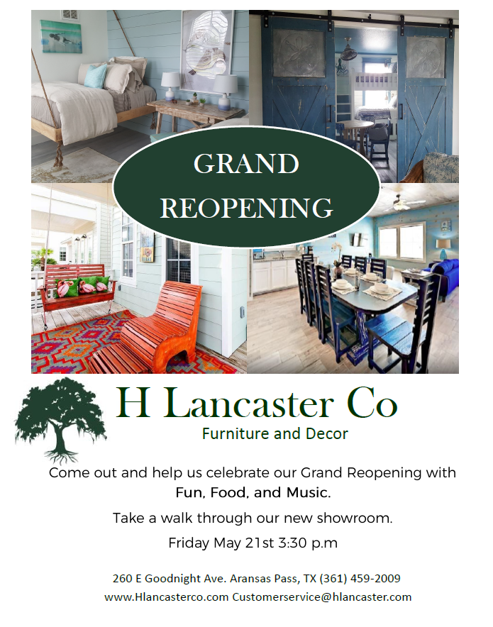 H Lancaster Co Grand Reopening