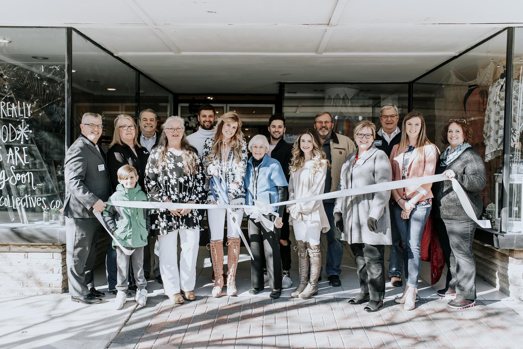 Ribbon Cutting Meraki Collective & Collaboration