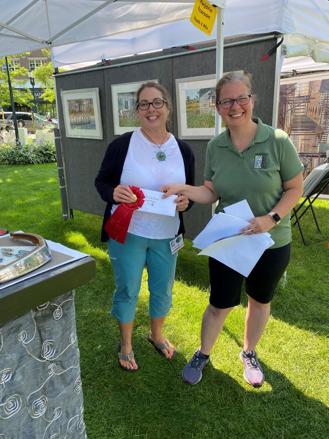 Marjorie Rawson - Second Place - 2021 Petoskey Art in the Park