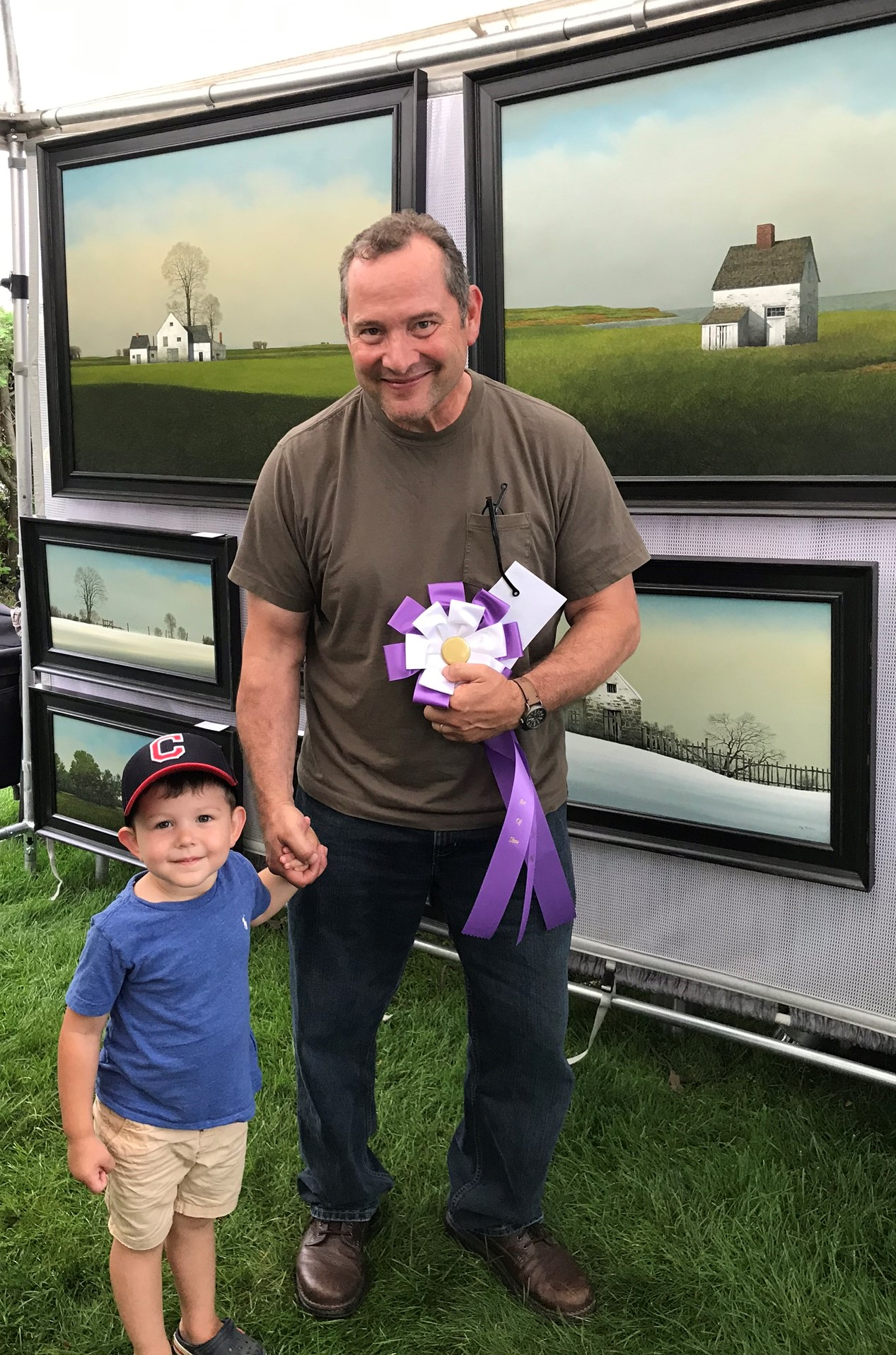 2019 Art in the Park Best in Show - Gary Stretar