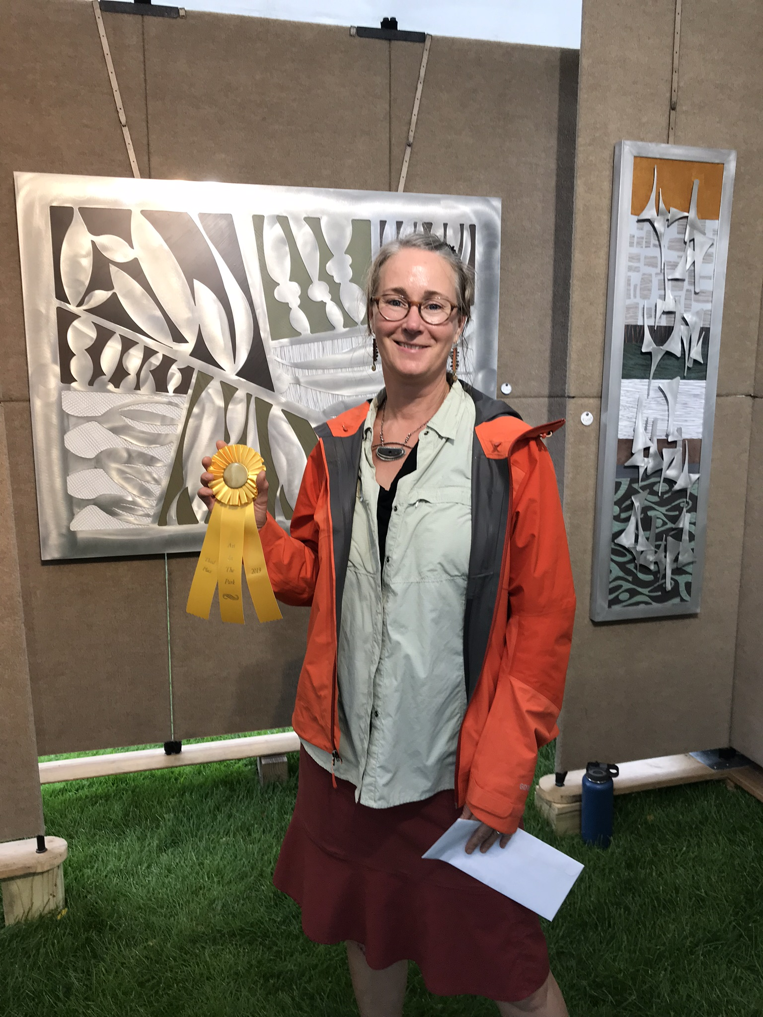Cherie Haney - 2019 Petoskey Art in the Park - 3rd place