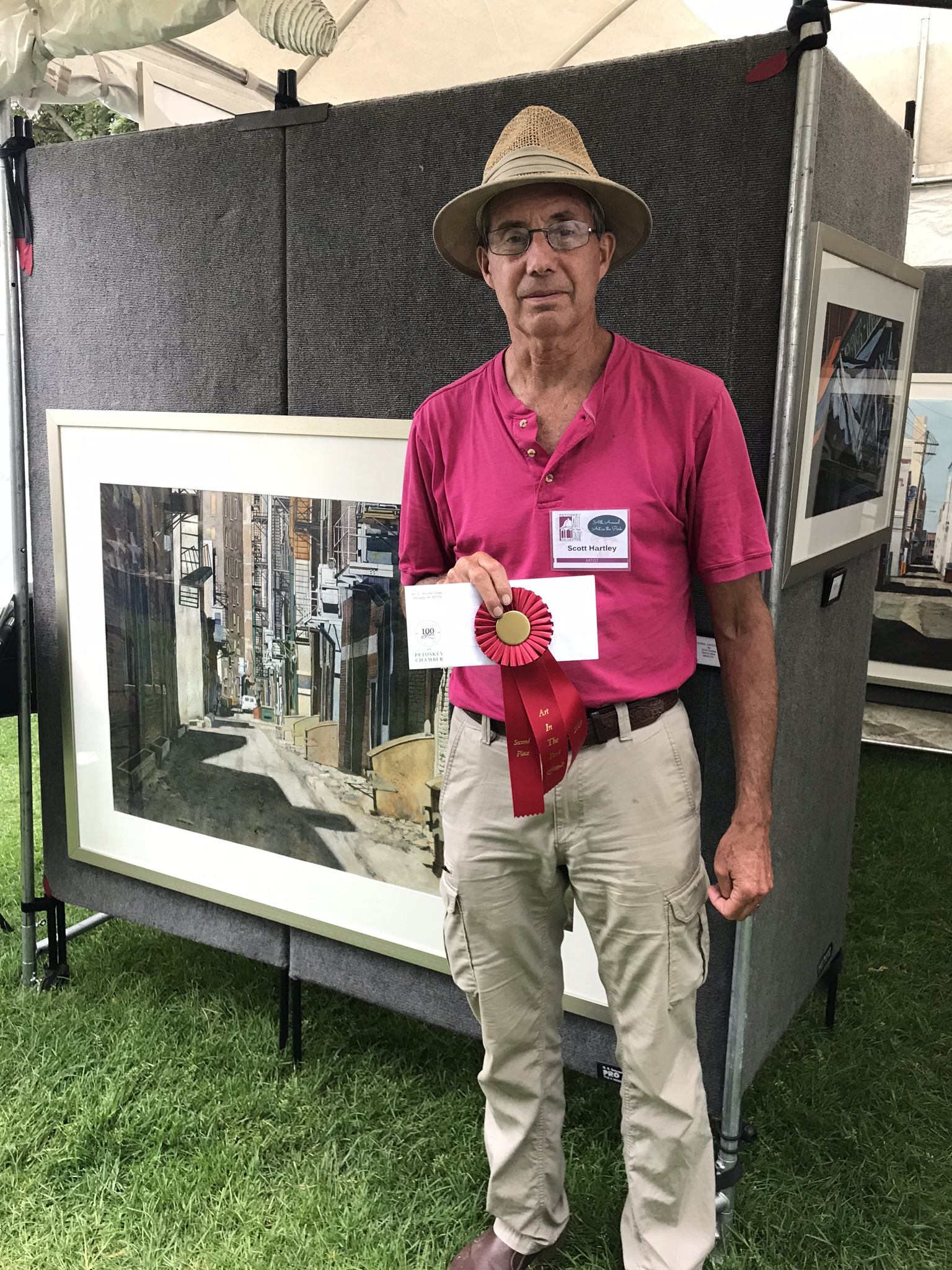 Scott Hartley - Second Place - 2018 Petoskey Art in the Park