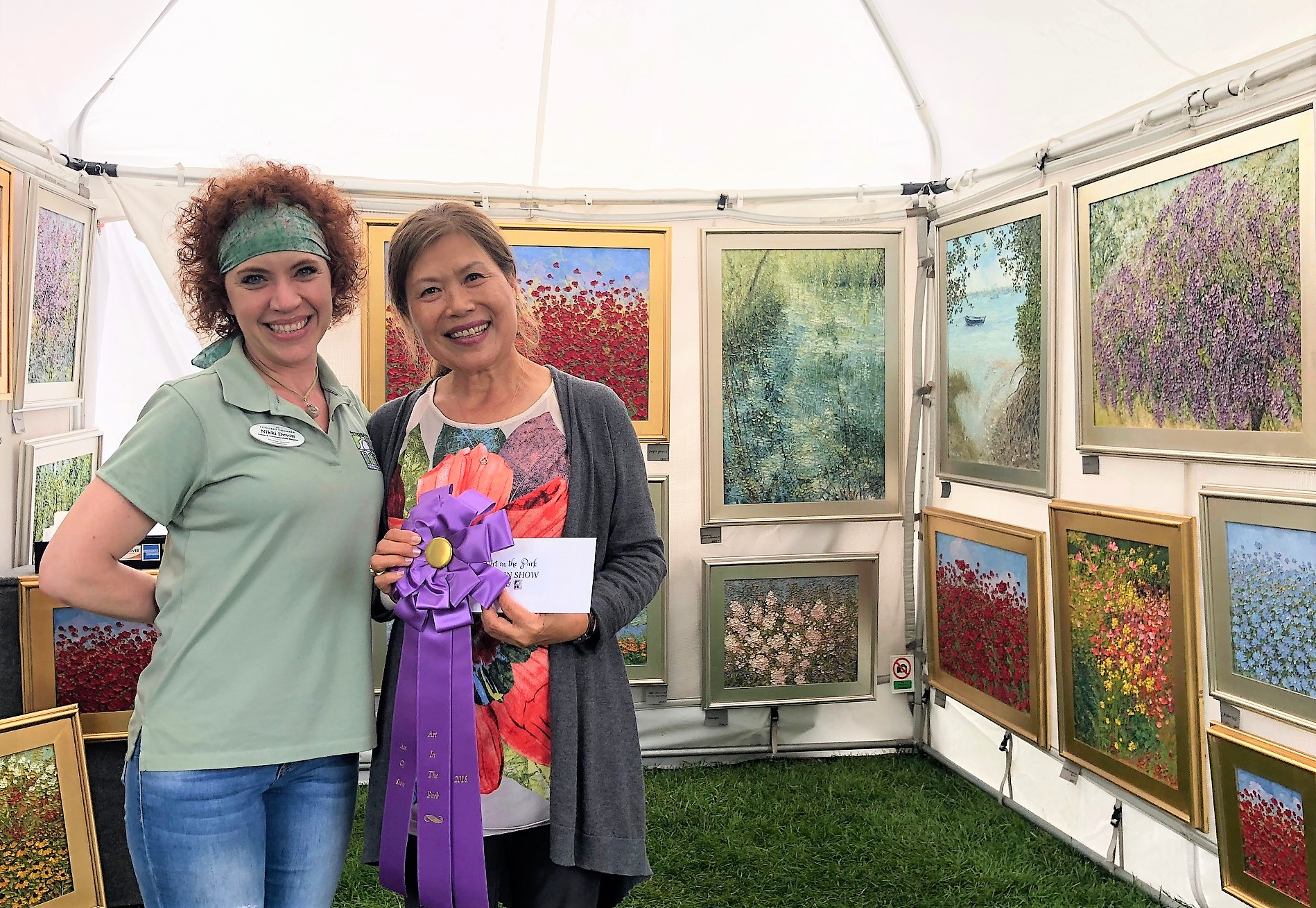 2018 Art in the Park Best in Show - Kwang Cha Brown