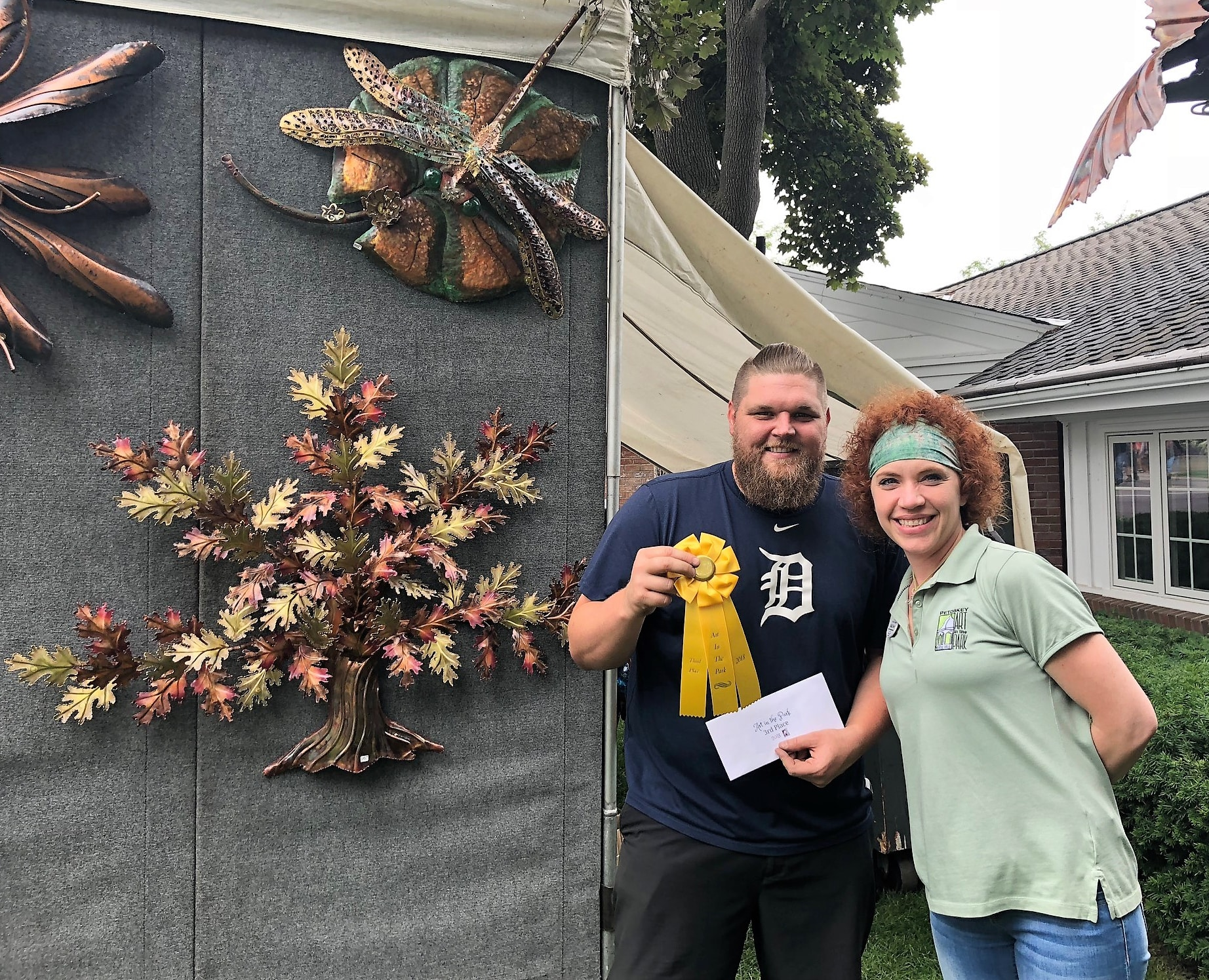 Chad Anderson - 2018 Petoskey Art in the Park - 3rd place