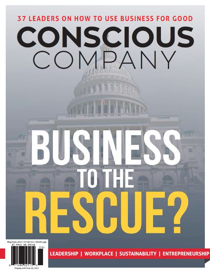 Concious Company Magizine for Petoksey Chamber Members