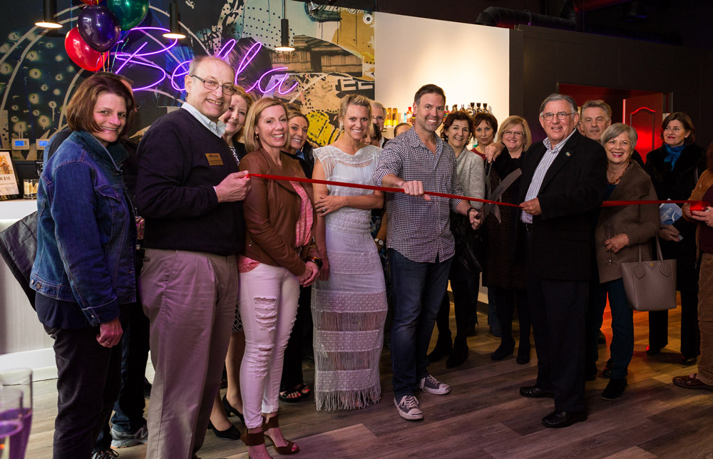 San Rafael Chamber Ribbon Cutting at Tan Bella