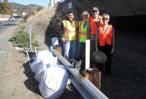 san rafael chamber of commerce adopt a highway team