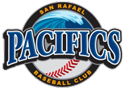 San Rafael Pacifics Baseball Club logo