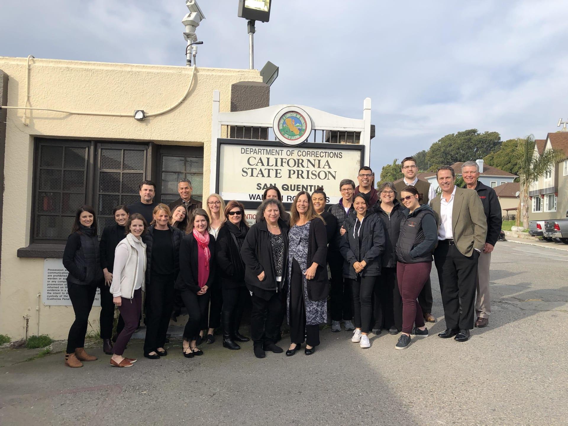 San Rafael Leadership Institute San Quentin Tour 2019