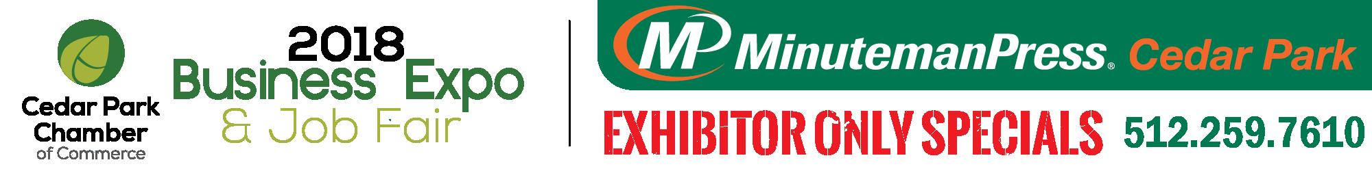 Exhibitor Specials