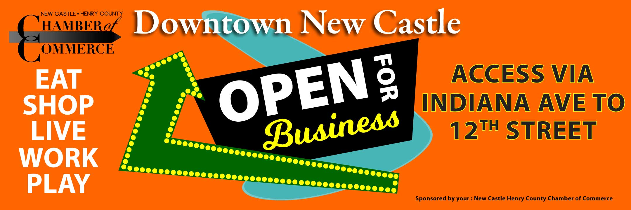 Downtown New Castle is Open for Business!