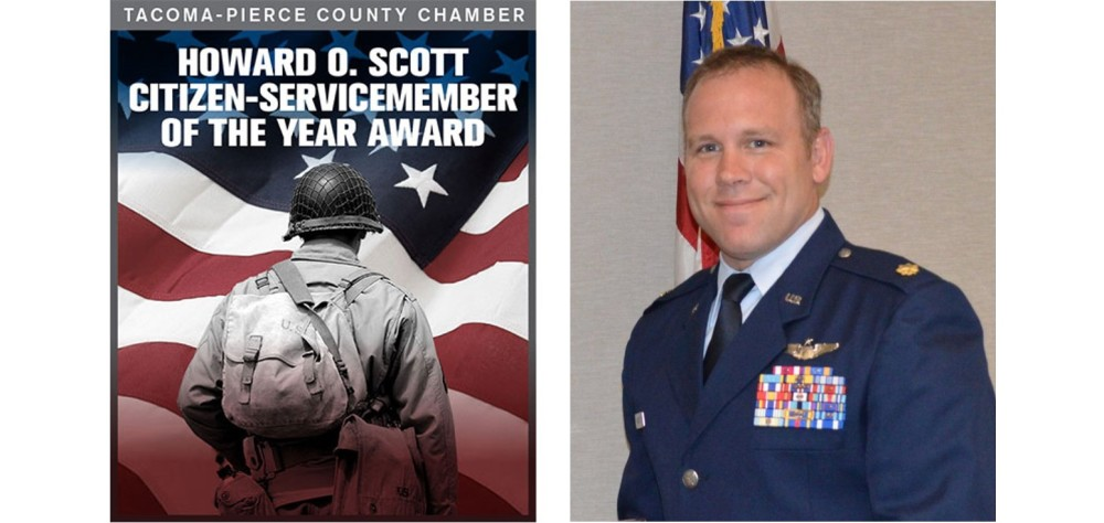 Howard O Scott Citizen-Servicemember of the Year Award