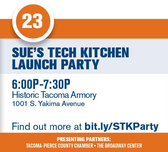 Sue's Tech Kitchen Launch Party