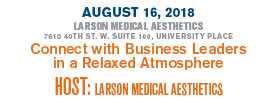 Chamber After Hours at Larson Medical Aesthetics